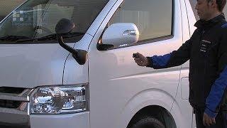 GARAX ハイエース4型 ドアミラーウインカーキット thumbnail