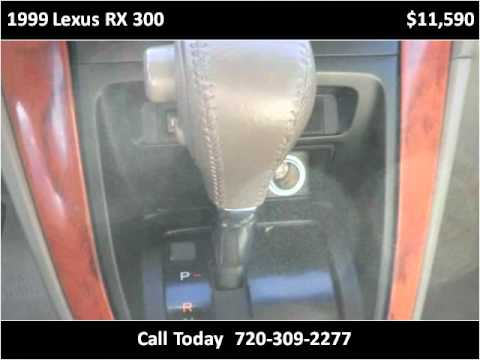 1999 Lexus RX 300 available from Colorado Auto Connection In