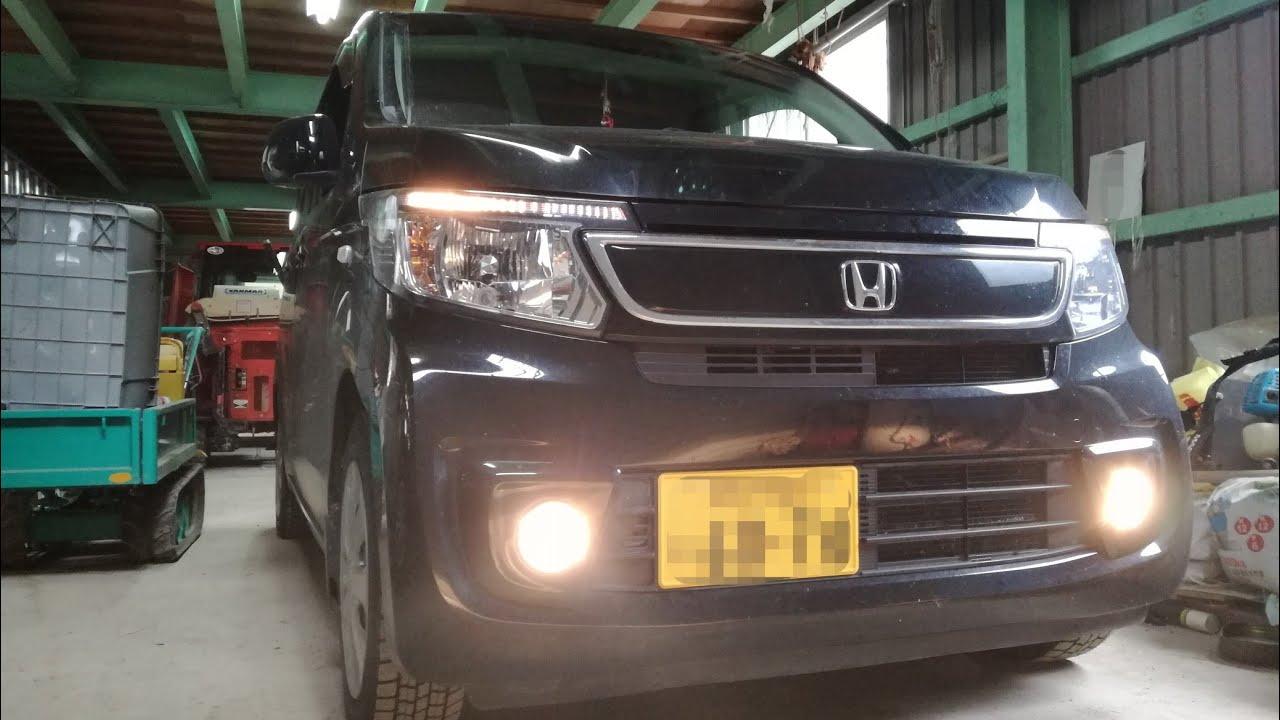 2014 Honda N-WGN JH1 Startup - YouTube