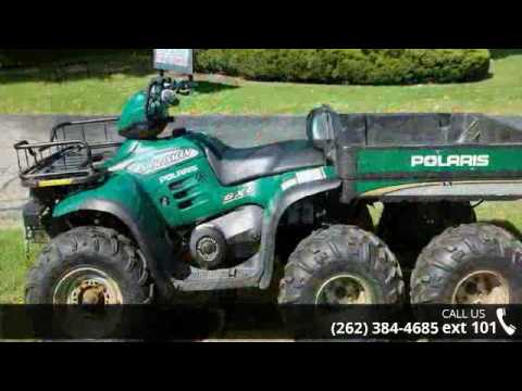 2000 Polaris Sportsman 500 6X6 - Action Power Sports - W    - YouTube