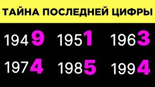Последнее число года рождения что означает последняя цифра года рождения