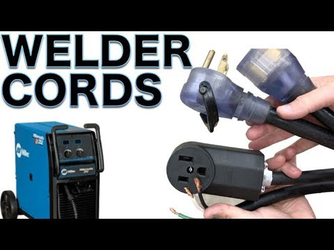 wiring a 220v welder electrical extension cord  quick/simple  but is it  safe