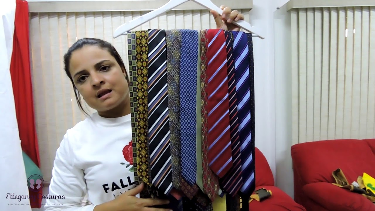 a63b169bd059d Gravatas de alta costura para diminuir largura e diminuir tamanho ...