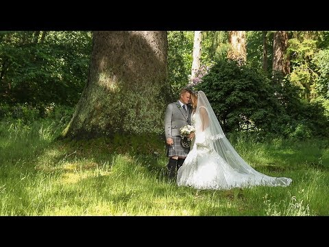 Jess and Kev at Culcreuch Castle