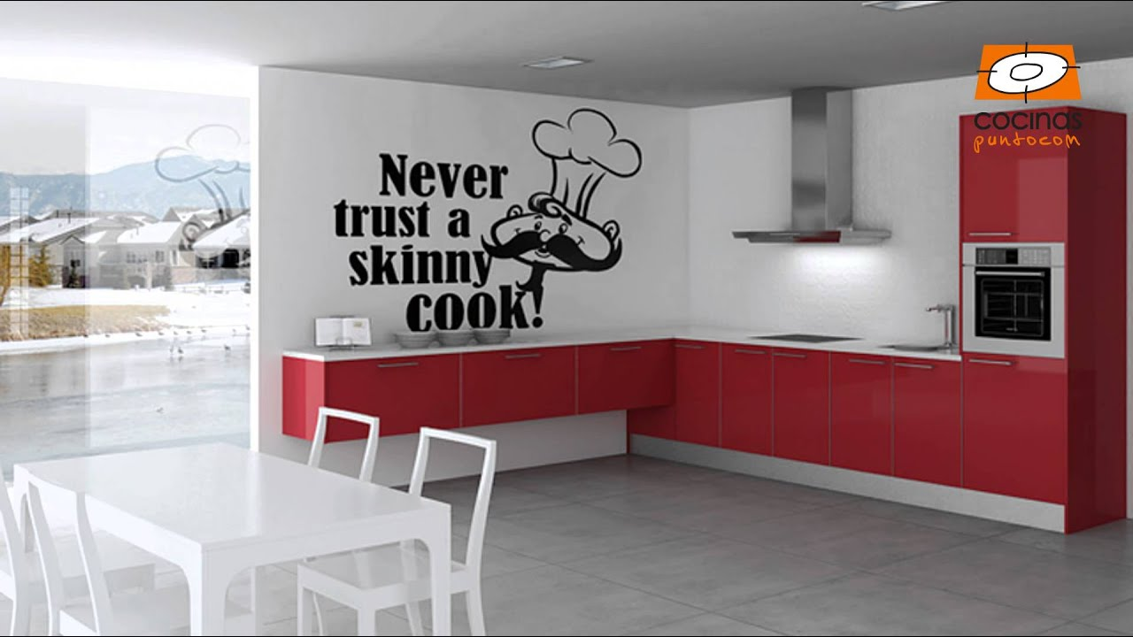 C mo decorar las paredes de nuestra cocina youtube for Ideas decorar pared cocina