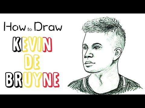 How to Draw Kevin de Bruyne