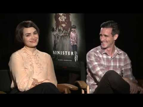 Sinister 2 / Interview with actors Shannyn Sossamon & James Ransone