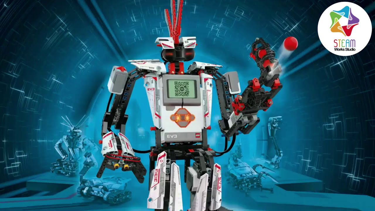 WIN, WIN, WIN... Take the STEAM Quiz to Win a Chance for a LEGO Education Mindstorms EV3 Robot!
