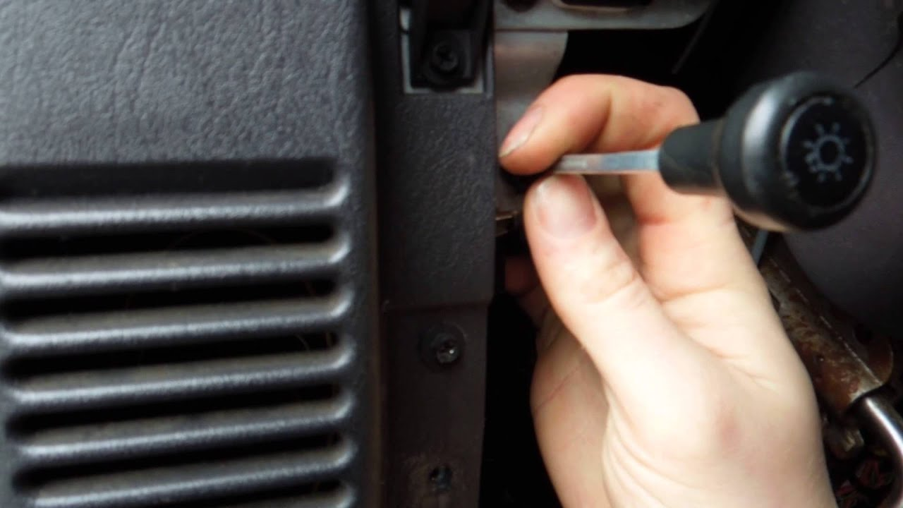 medium resolution of how to repair or replace jeep wrangler tj 1999 headlight switch and connector plug