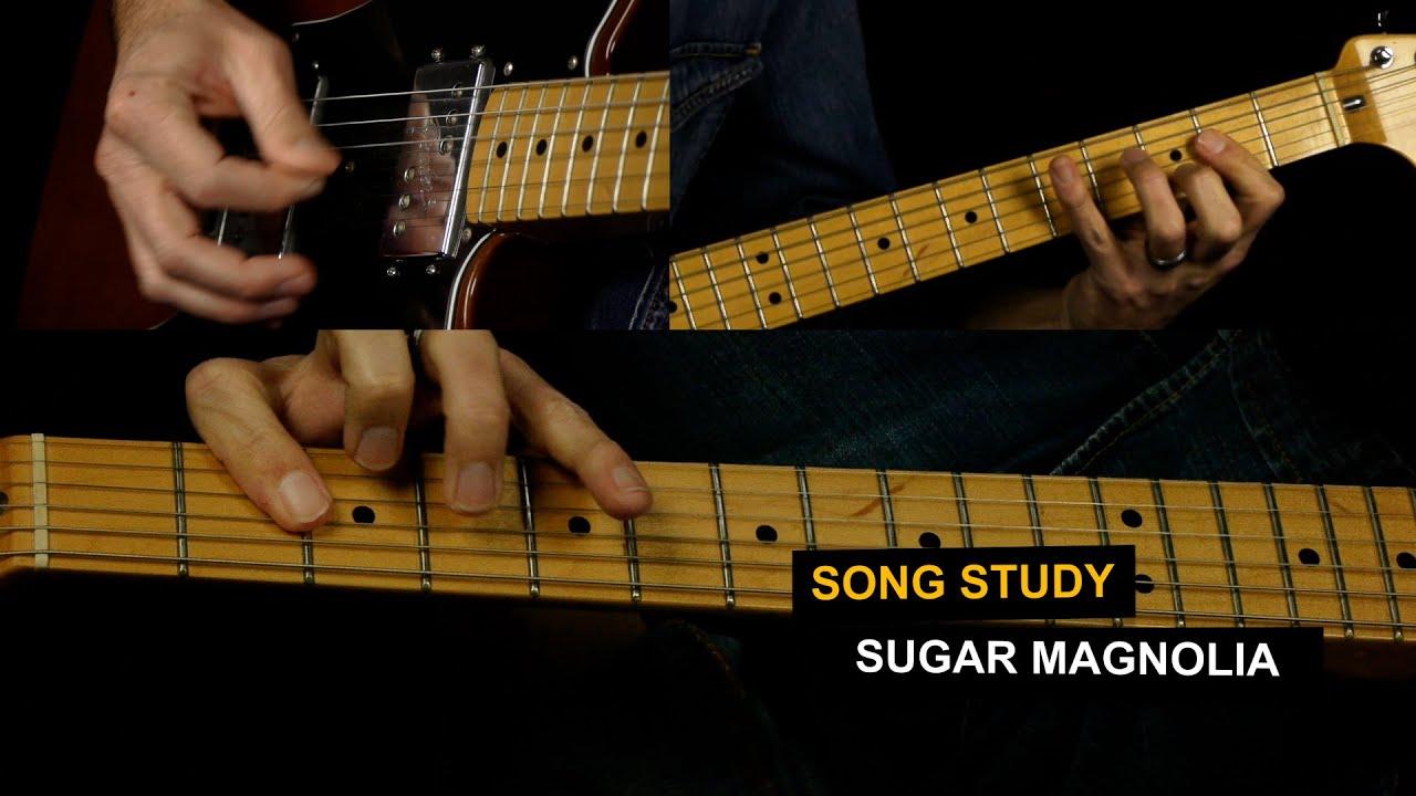 Sugar Magnolia Guitar Lesson   Grateful Dead