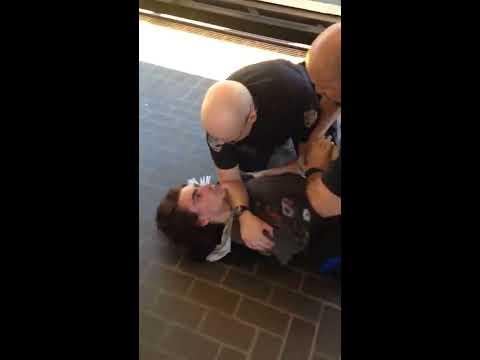 Vancouver transit police takedown