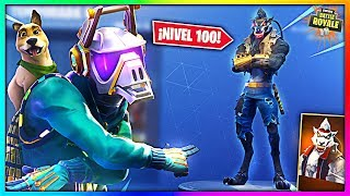 *SEASON 6* SKIN LEVEL 100 AND ALL SKINS! (Fortnite Buy Battle Pass) - BySixx