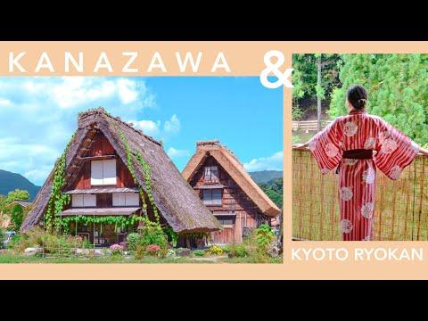 Kanazawa/ Shirakawa-go Itinerary & Kyoto Ryokan Experience!