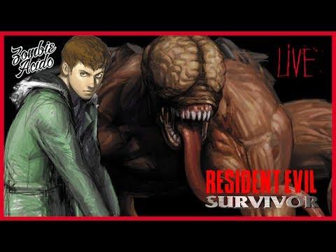 Resident Evil Survivor Play Station One  Español.