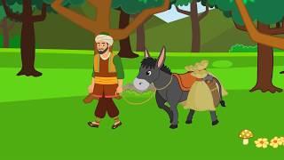 Ali Baba ve 40 Haramiler Çizgi Film - Türkçe Masallar - Turkish Fairy Tales - Masal Dinle