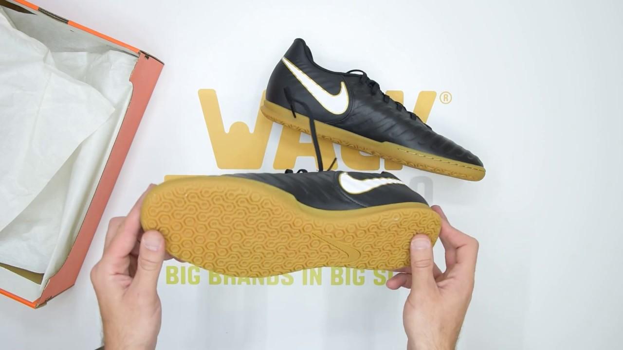 Nike TiempoX Rio IV (IC) - Black White
