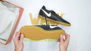 ecd933b7da Nike TiempoX Rio IV (IC) - Black White - Unboxing