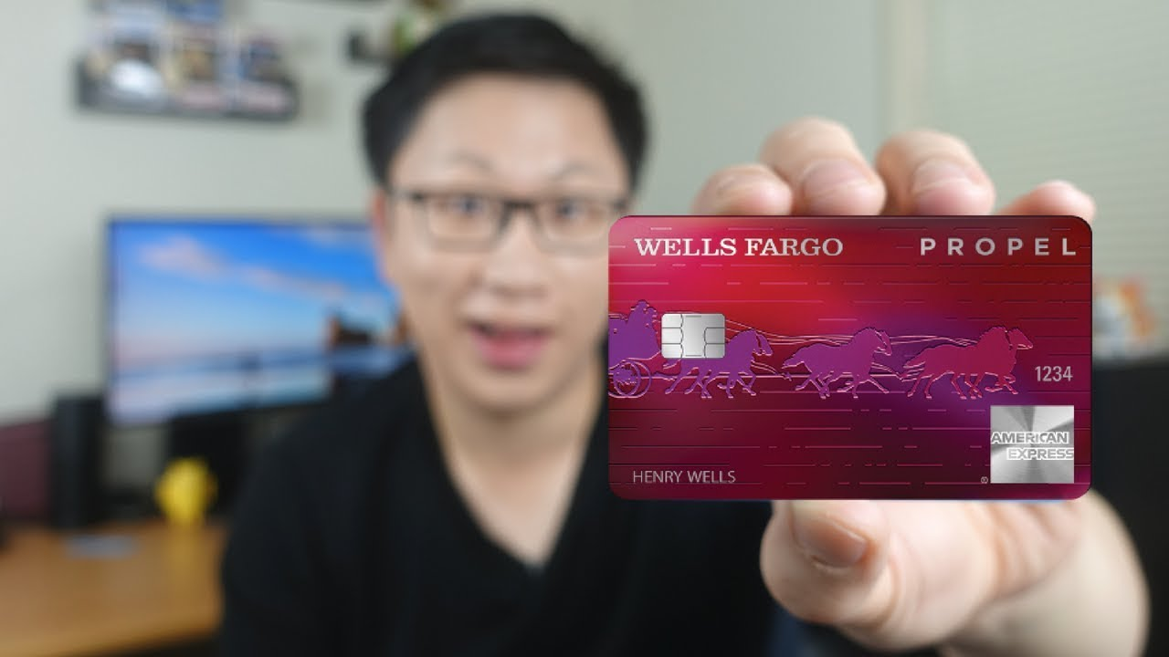 NEW Wells Fargo Propel Amex Review