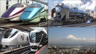 2020 在来線映像集 E261系サフィール踊り子・E3系つばさなど Train video collection