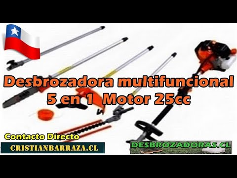 Desbrozadora Multifuncional 5 En 1 25cc Stgo Chile thumbnail
