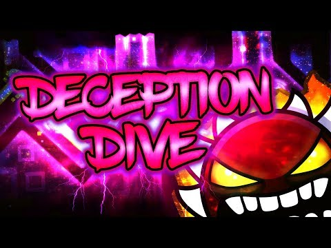 Geometry Dash | Deception Dive 100% [Extreme Demon] | (On Stream)