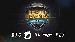 DIG vs. FLY | Regional Qualifier | NA LCS Summer Split Game 1 | Team Dignitas vs. FlyQuest (2017)