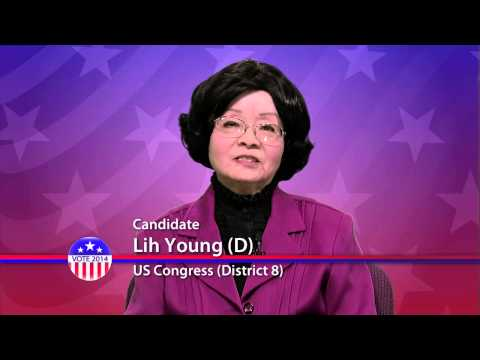 Lih Young (D), Candidate for US Congress District 8