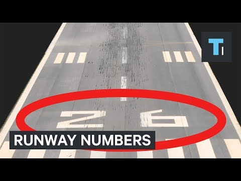 Thumbnail: Every airport runway has 2 numbers on it — here's why