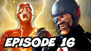 The Flash Season 3 Episode 16 Black Flash TOP 10 and Comics Easter Eggs