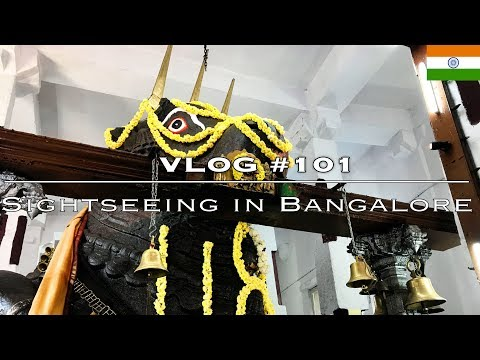 VLOG #101 [Bangalore]: Sightseeing | Bull temple, Sultans palace, Lal Bagh