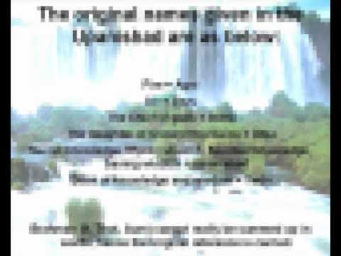 Upanishads I - Kena - Full - English - VLC