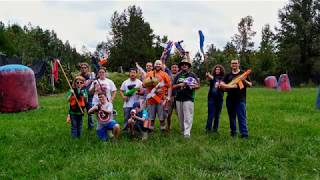 Welcome to the Dart Coliseum - CNA Nerf War #1 9.29.18