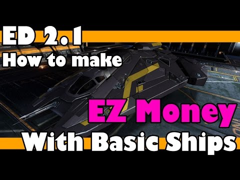 Make Millions With Basic Ships - Elite Dangerous Horizons 2.1