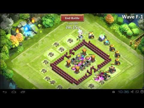 Castle Clash Full Circle Double D / Deathbox Base Design