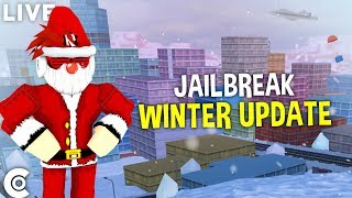 🔴 ROBLOX JAILBREAK WINTER UPDATE | LEVELING UP! | ROAD TO 10K! | ROBLOX LIVESTREAM 🔴