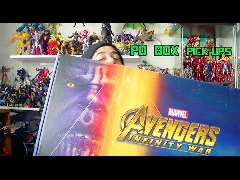 Marvel's Avengers Infinity War Hasbro Unboxing + PO Box Pick-Ups 3:9:18