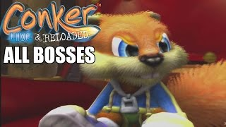 Conker Live & Reloaded All Bosses