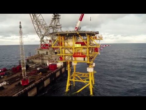 Petrogas E&P - A18 project / On- and offshore