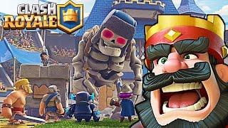 Новая серия по игре Clash Royale видео   ЧЕТВЕРТАЯ АРЕНА Клеш Рояль от Funny Games TV
