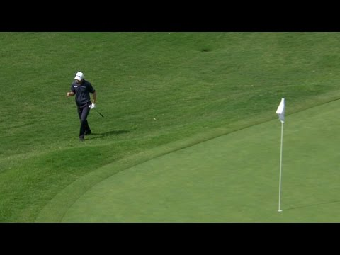 John Senden's textbook chip in birdie on No. 15 at AT&T Byron Nelson