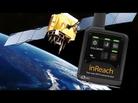 2 Way Satellite Communicator with GPS! The inReach by DeLorme