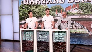 Ellen's Writer Plays 'Hubba Hubba Harvard Quiz Quiz'