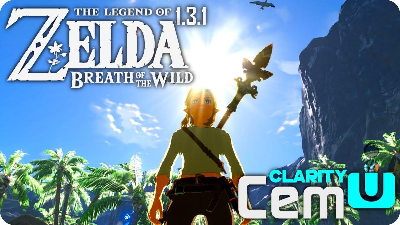 ZELDA Breath Of The Wild on PC - CEMU 1 10 0 - Clarity Pack Graphics Mod
