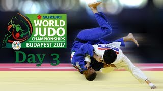 Ippon Highlight Day 3 | World Championships Budapest 2017 | JudoHeroes