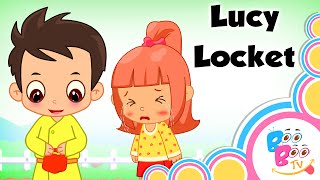 Lucy Locket Lost Her Pocket With Lyrics - English Kids Nursery Rhyme - Song For Children