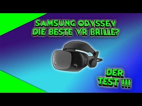 Die Samsung Odyssey! Die beste VR-Brille? Der erste deutsche Test! [German][Virtual Reality]