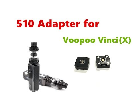 OEM Style 510 Adaptor/Vape Adapter For Voopoo Vinci/Vinci X Pod Kit By Wejoytech