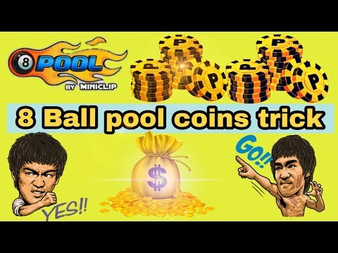 8 Ball Pool Coins Trick || 8 Ball Pool Unlimited Coins