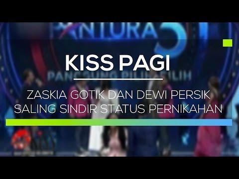 Zaskia Gotik dan Dewi Persik Saling Sindir Status Pernikahan - Kiss Pagi