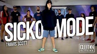 Travis Scott - SICKO MODE ft. Drake (COREOGRAFIA) Cleiton Oliveira IG CLEITONRIOSWAG